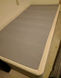 Twin Box Spring Mattress Frame Silver Spring