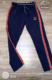 PUMA pants ladies XS/S great condition London, N5W 1E8