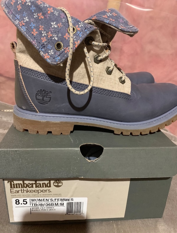 Slightly used timberland size 8.5 21f860ed-34b4-4b09-b2ef-1219bfbde135