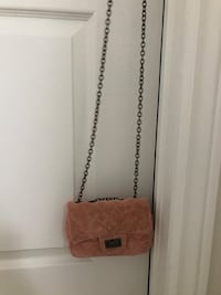 brown leather crossbody bag with fringe 557 km