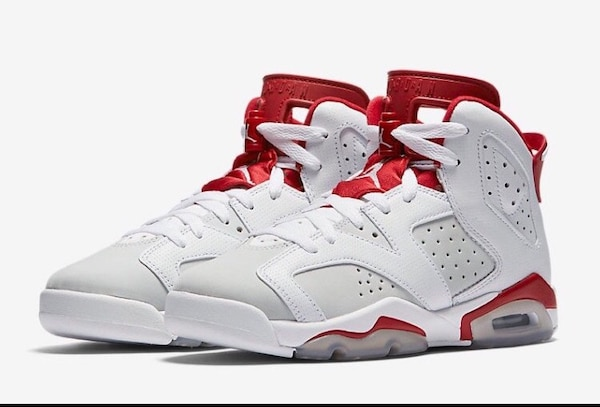 0392a4cf9ff085 Used white-red-grey Air Jordan 6 for sale in Melbourne - letgo