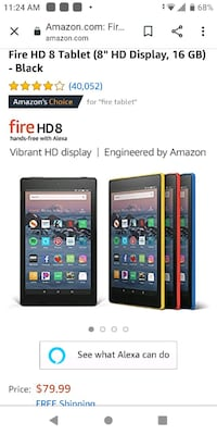 Like new HD Amazon tablet