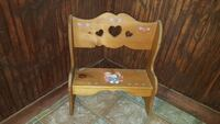 brown wooden bench Forney, 75126