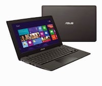 Black and gray Asus pc notebook Cary, 60013