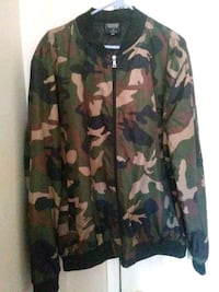 green, brown, and black camouflage jacket Perris, 92571