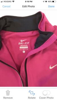 Nike 3/4 zip long sleeve active top.. Mississauga, L5J 1W3