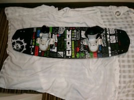 slingshot Choice w/SLINGSHOT BINDINGS 2015 NEW  (CHARLESTON)
