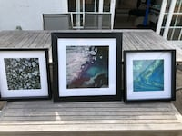 Multiple frames with photographs