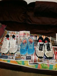 Nikes , gym shoes, cleaned, and no wear ,R, Chicago, 60628