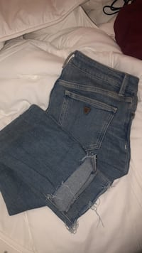 Very gently used guess jeans North Dumfries