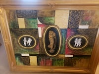 K.Hillman Painting With Gold Frame- DELIVERY AVAILABLE  College Park