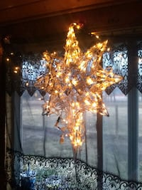 Huge white Christmas Star would like to trade something