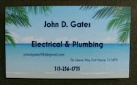 I do electrical work and plumbing Fort Pierce