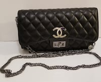 quilted black Chanel leather crossbody bag Sacramento, 95823