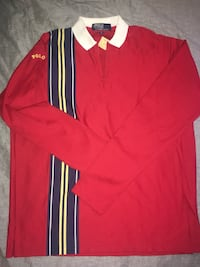 1988 RALPH LAUREN POLO SPELLOUT RUGBY NWT Felton, 95018