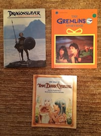 Collectible Storybooks From '80's Movies Alexandria, 22304