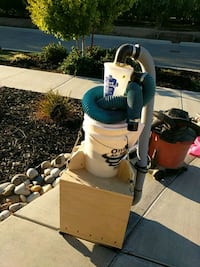 Dust collector with cyclone and remote control Ripon, 95366