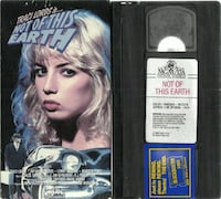 Traci Lords - Not of This Earth - VHS 1988, MGM/UA  Used VG Tested  Newmarket
