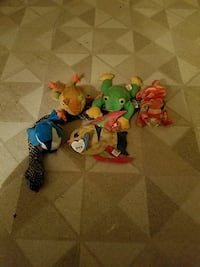 6 beanie babies (all with tags)