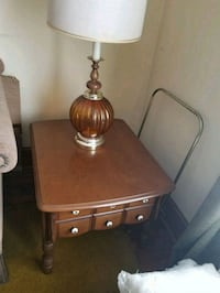 2 end tables with lamps Dickson City, 18519