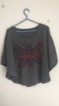 Grey wooly Forever 21 shirt size small Toronto, M2K 2J7