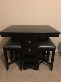 black wooden single pedestal desk Washington, 20024