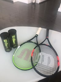 Wilson tennis racquets for adults Vancouver, V6Z 2W9