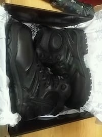 Black Work Boots $20  North Las Vegas