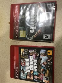 Two assorted ps3 game cases Sterling, 20164