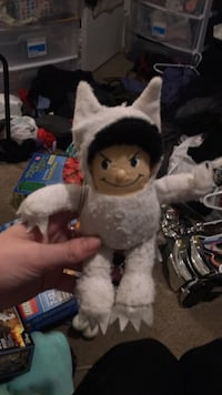 where the wild things are plushie  Dallas, 75248