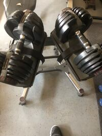 black and gray dumbbells and barbell La Quinta, 92253