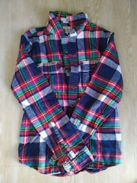 Men's button up plaid flannel shirt Toronto, M5S