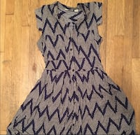gray and black chevron sleeveless dress Alexandria, 22306