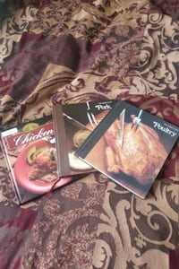 Books on How to Cook Chicken, Pork,  and Poultry Washington, 20032