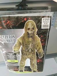 Zombie costume size 10 12  Hagerstown, 21740