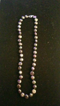 Pearl necklace with sterling silver clasp Hyattsville, 20784