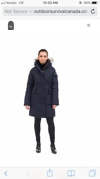 OSC PARKA WOMENS NEW CANADA GOOSE
