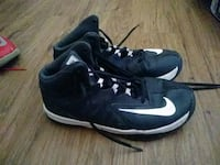 pair of black-and-white Nike basketball shoes Carrollton, 75006