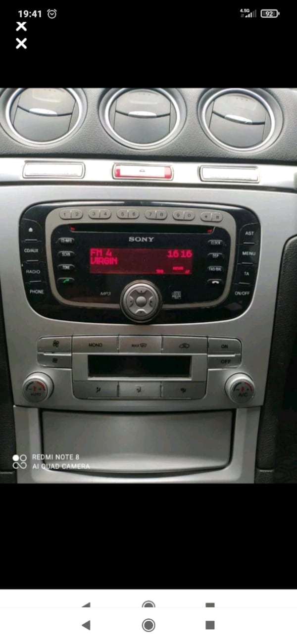 Ford radio cd çalar 5331e0db-9fbd-496d-ae71-8cfa388de37a