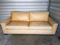 Leather couch and chair set  Long Beach, 90804