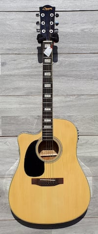 Left handed acoustic electric guitar for beginners 41 inch full size brand new Toronto