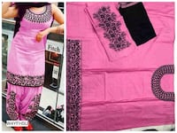 pink and black floral print textile Mumbai, 400064