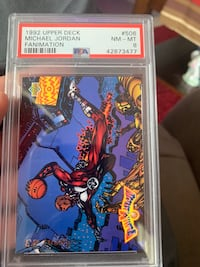 Michael Jordan Basketball Card  El Paso, 79904