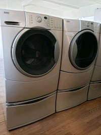 KENMORE ELITE FRONT LOAD WASHER AND GAS DRYER  Lake Elsinore