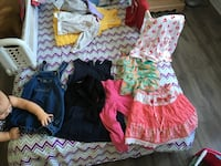girl's assorted clothing outfit 857 km