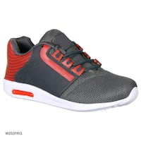 unpaired black and red Adidas low top sneaker Achhewala, 152021