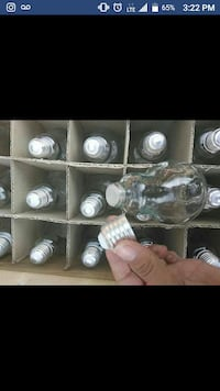 200ml light bulb bottles  Brampton, L6Y 0J2