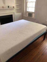 Memory foam mattress and frame