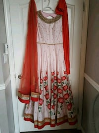 Indian anarkali gown