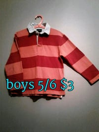 red and white striped polo shirt 3134 km